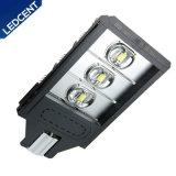 Facile installare 180W scaldare l'indicatore luminoso di via bianco della strada principale LED