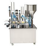 Роторный тип автоматическая машина запечатывания чашки югурта