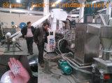 縦の遠心分離機のプラスチック乾燥の脱水機の排水機械