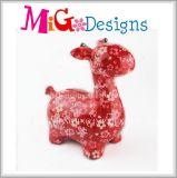 Antiguidade colorida do banco Piggy do projeto do cavalo da fábrica decorativa cerâmica