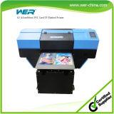 Stampante a base piatta UV capa doppia da tavolino approvata A2 del Ce