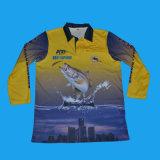 Chemise de pêche à la sublimation | Chemise de pêche sublimée du fournisseur d'usine