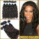 브라질 머리 또는 페루 머리 또는 Malaysian 머리, 마감 & 가발