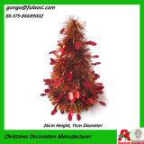 번쩍번쩍하는 장식물 화환의 크리스마스 훈장 선물 나무