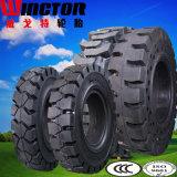 高品質17.5-25の固体OTRのタイヤ、車輪のローダーの固体タイヤ17.5-25