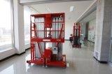 Piattaforma di lavoro aereo di alluminio dei doppi alberi con CE