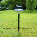 Lumière solaire extérieure de jardin de la prise de masse DEL