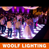 2016 chegadas novas que Wedding o diodo emissor de luz iluminado RGB Dance Floor do espelho DMX do estágio