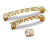 Maniglia dorata classica europea Ah-1123 del Governo & del portello
