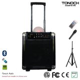 8 Plastic Portable Inches PA-System mit Battery