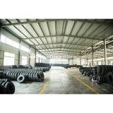 Vente en gros 14*5*10 de constructeur de la Chine Appuyer-sur le pneu solide