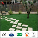 China Wholesale Nature Artificial Synthetic Grass Mat für Garten