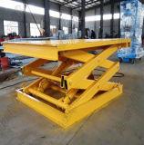 Il magazzino più popolare Hydroulic stazionario Scissor la piattaforma di sollevamento