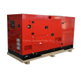 Gerador de diesel elétrico silencioso de 25kVA a 150kVA para fazenda