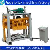 Máquina manual de ladrilho oco máquina de bloco de concreto