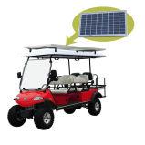 Внедорожник тележки звероловства гольфа дефектный с панелью солнечных батарей 6seat