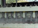 白いカラー(DYF600)の石造りの柵機械