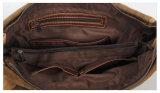 Borsa della tela di canapa 100%Cotton dei sacchetti dell'annata dell'uomo anziano lavato di disegno (RS-8564)