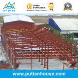 Bâtiment en acier préfabriqué de constructeur de la Chine de prix bas