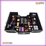 까만 아BS 표면 아름다움 상자 큰 직업적인 장식용 여행 가방 (SACMC088)