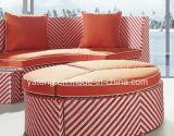 Sofá al aire libre seccional del jardín de la nueva del estilo 2016 rota de la alta calidad fijado (YT900)