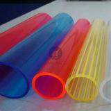 2015 tubos expulsos acrílicos coloridos de PMMA