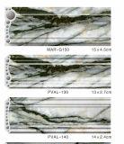 Os moldes decorativos da parede feitos no PVC venderam o mármore no revestimento UV