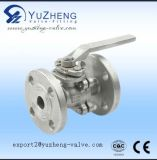 Steel inoxidable 3PC Flanged Ball Valve