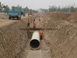 Tubo de la fibra de vidrio para el agua o la transportación de Chemcail