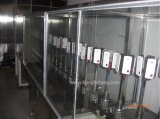 Línea de pintura automática ULTRAVIOLETA para las piezas plásticas