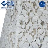 Blusa atractiva de Ahuecamiento-hacia fuera del cordón de la flor de la funda de la perspectiva corta gris del V-Cuello