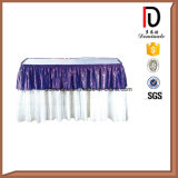 Dekorative preiswerte Tisch-Fußleiste für Hochzeit