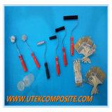 Rouleau en acier de traitement en plastique pour des produits de FRP
