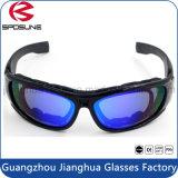 Os óculos de sol balísticos militares novos da segurança acolchoaram óculos de proteção táticos do esporte dos homens