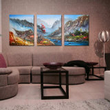 Toutes les tailles High Resolution Full Color Custom Stretched Canvas Printing