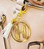 Подгонянное кольцо милого металла промотирования ключевое (Y03239)