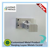 Parte que trabaja a máquina con el material de aluminio