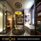 食器棚Cusotmが付いているDesginerの浴室の虚栄心のキャビネットはTivo-0032vhを作った