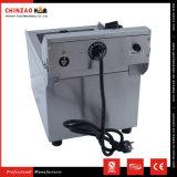 10L de enige Braadpan van de Chips van het Roestvrij staal van de Tank Elektrische Diepe Vette op Verkoop