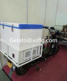 Recipientes do gelado do triciclo nenhuma necessidade para obstruir dentro