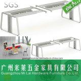 Muebles fáciles del sitio de trabajo de la partición de la oficina del marco de acero del diseño que ensamblan moderno