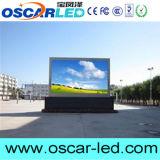 Mur P10 extérieur installant annonçant l'Afficheur LED