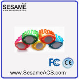 Braccialetto Ultralight del silicone di controllo di accesso della piscina RFID (S-WB2D)