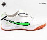 A fábrica pequena de MOQ oferecida o futebol novo de venda quente do estilo do projeto calça sapatas dos esportes com alta qualidade e bom preço