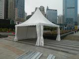 Напольный водоустойчивый алюминиевый шатер Pagoda случая ткани PVC белизны