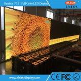 Экран дисплея определения изогнутый Rental СИД P3.91mm напольным высоким
