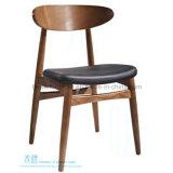 Cadeira de jantar de madeira moderna para o café do restaurante (HW-EX610C)