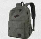 Bolsa de mochila de lona de lazer de ombro dupla, Traveling School Backpack Bag