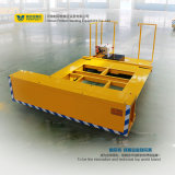 Bogie de transport électrique lourd appliqué dans le port de la mer