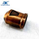 Modificar el casquillo de cobre del bastidor para requisitos particulares para las piezas